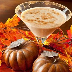 Pumpkin Latte Martini