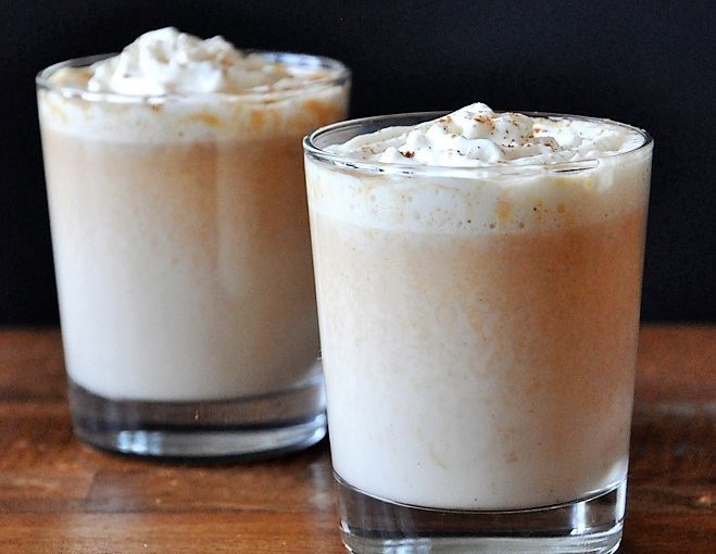 Boozy Bourbon White Hot Chocolate